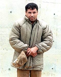 """O segundo mais procurado, o traficante mexicano Joaquim Guzman, conhecido como """"El Chapo"""""""