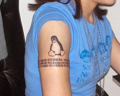 Tattoo Linux